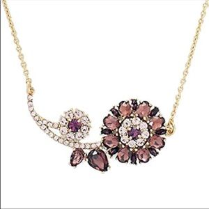 Kate Spade Trellis Blooms Necklace NWT